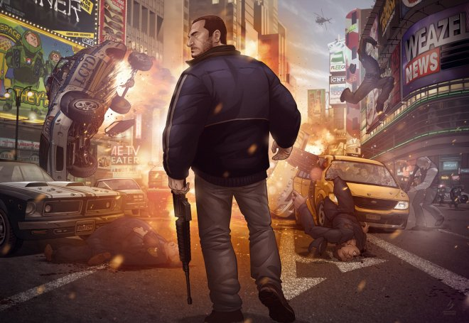 Grand Theft Auto IV Finale - Patrick Brown