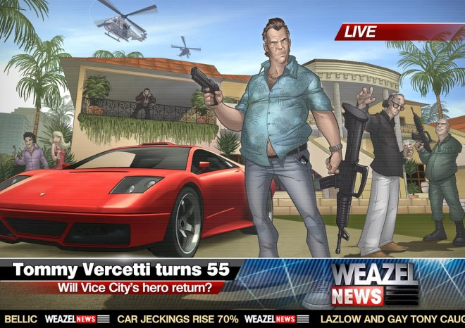 GTA : Tommy Vercetti turns 55 - Patrick Brown