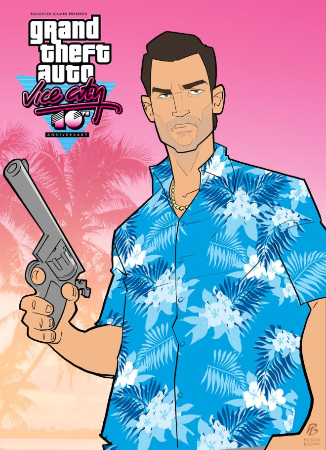 Grand Theft Auto - Vice City 10th anniversary - Patrick Brown