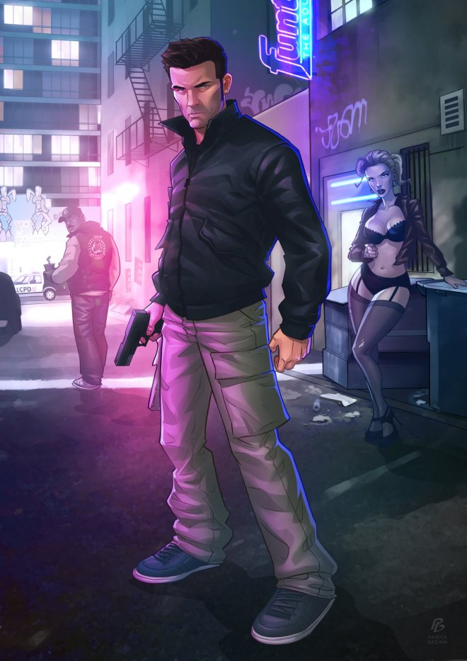 GTA III - Claude Speed - Patrick Brown