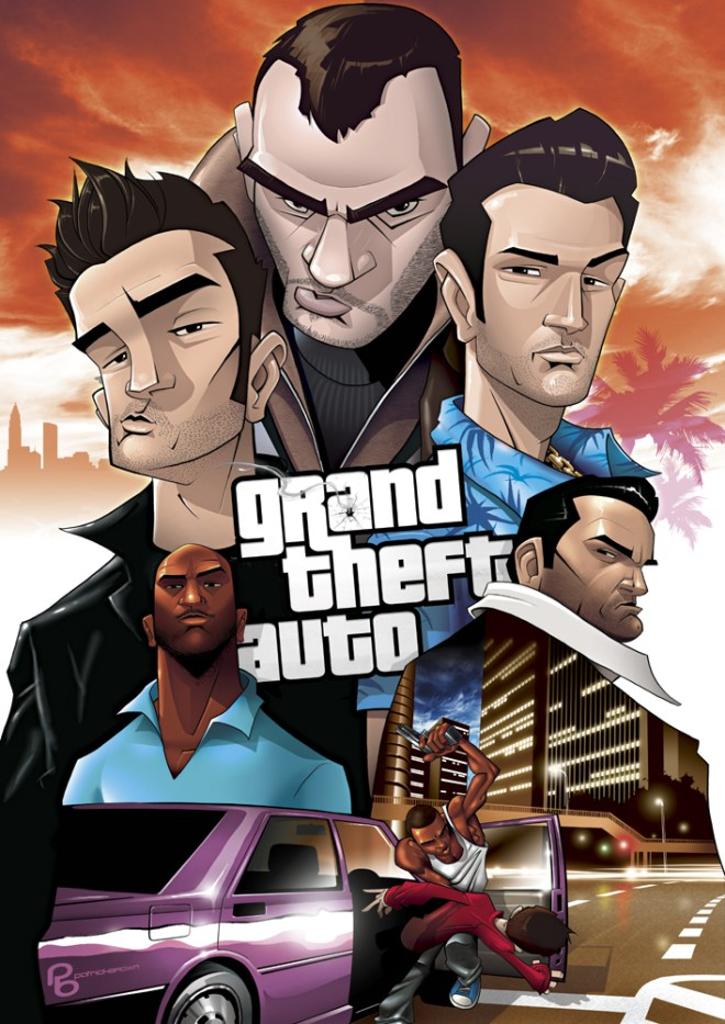Grand Theft Auto Legends - Patrick Brown