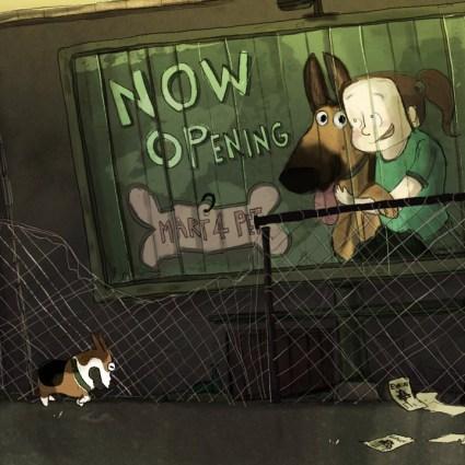 Steadfast Stanley, un court métrage avec des zombies dedans