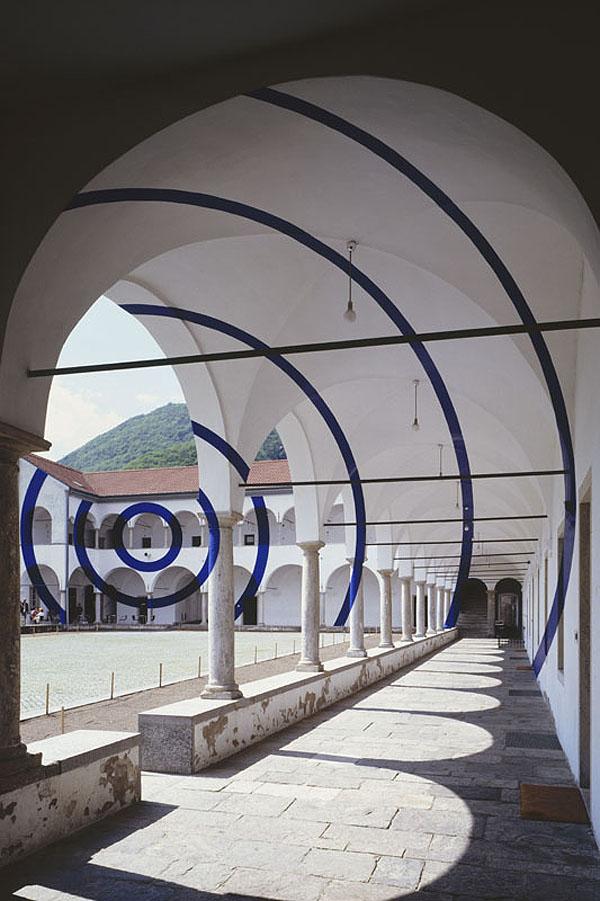 """""""archi e corone"""" Monte Carasso, Switzerland - 2004"""