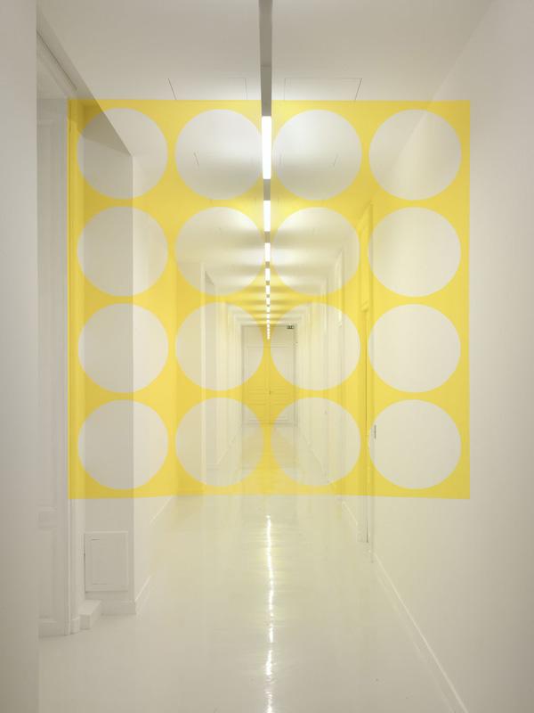 """""""Carré aux seize disques,"""" Centre national des arts plastiques – 2011"""