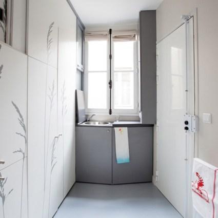Un ingénieux appartement de 8 mètres carré dans Paris