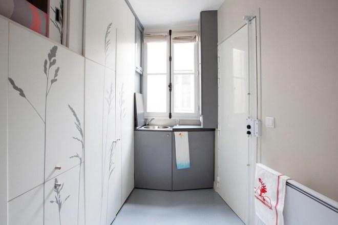 Plan large de l'appartement