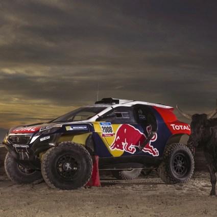 Peugeot Total dévoile la livrée de la Peugeot 2008 DKR (Dakar)