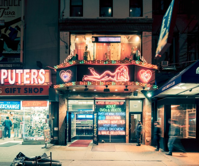 Playpen, Manhattan, New York City, 2014