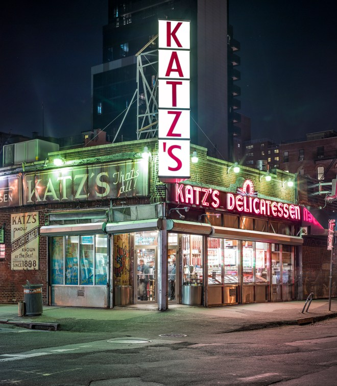 Kat's Delicatessen, East Houston Street, New York City, 2014