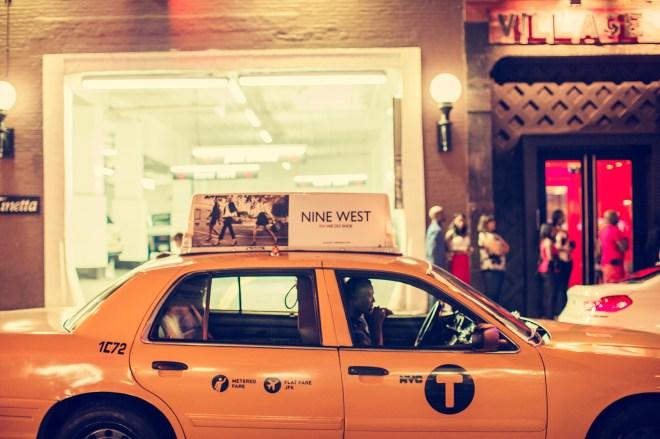 Yellow Cab, New York City, 2014