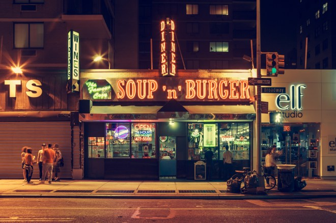 Soup'n'Burger, New York City, 2014