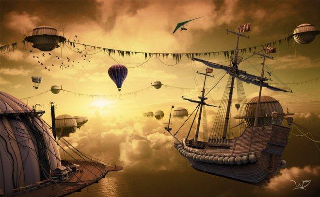 Living Behind The Clouds - Nikita Veprikov