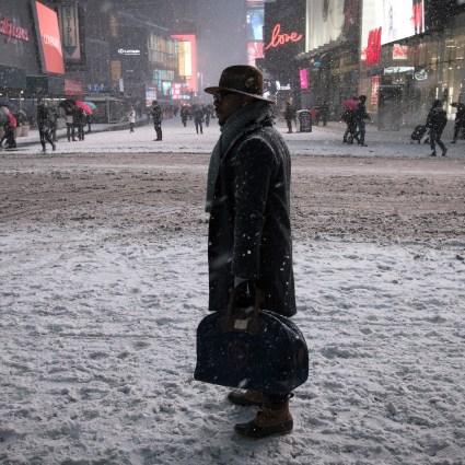 La tempête de Neige à New York, en voici quelques images