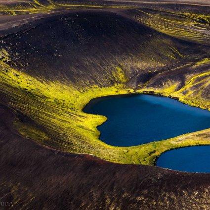 Iceland from Above / L'Islande vue d'en haut par Lukas Gawenda