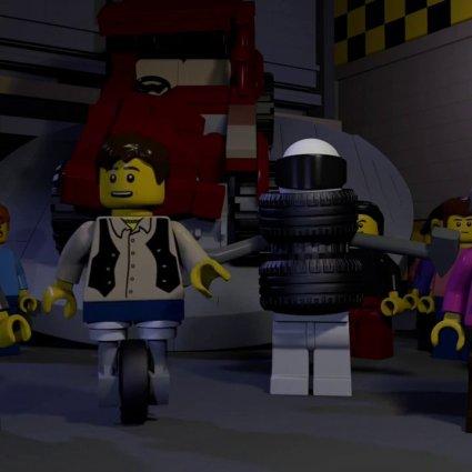Trailer de TOP Gear en LEGO