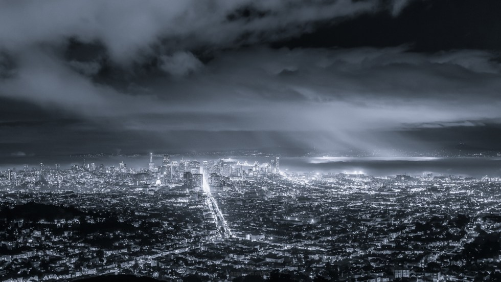Foggy Bay Area Storms