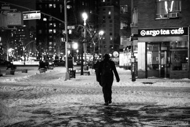 Blizzard on 58th Street - Grant Friedman 0005