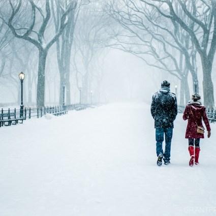 New York et son manteau blanc