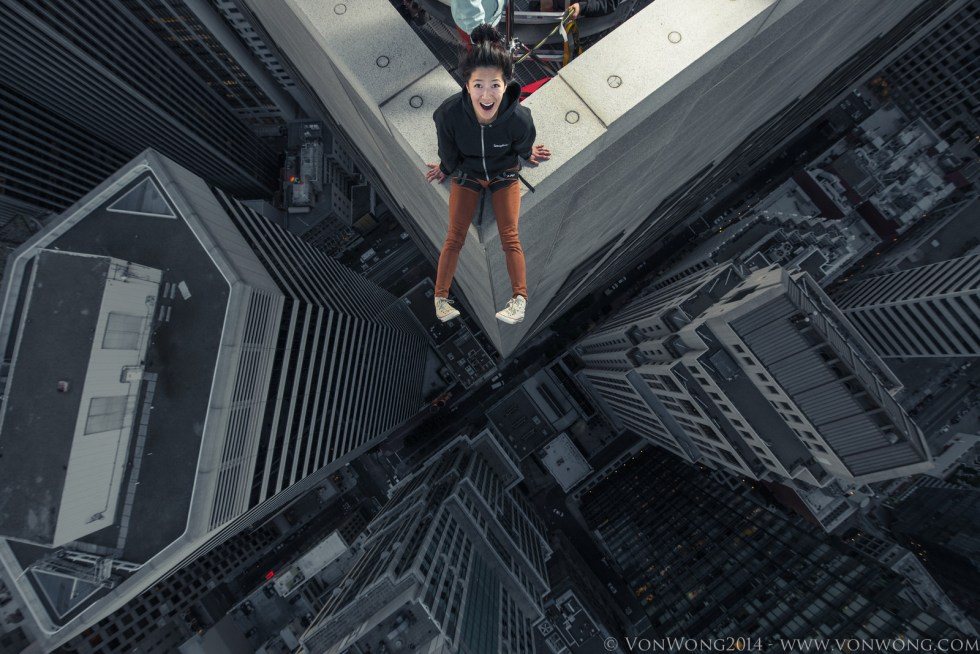Superheroes on Skyscrapers by Von Wong
