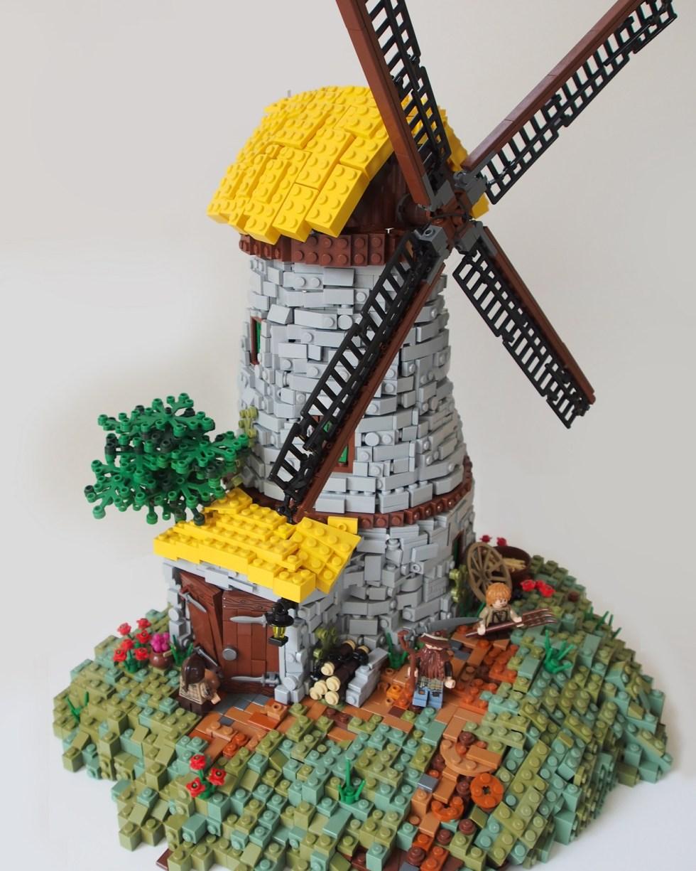 Ol' Poggards' Mill - LEGO - David Hensel