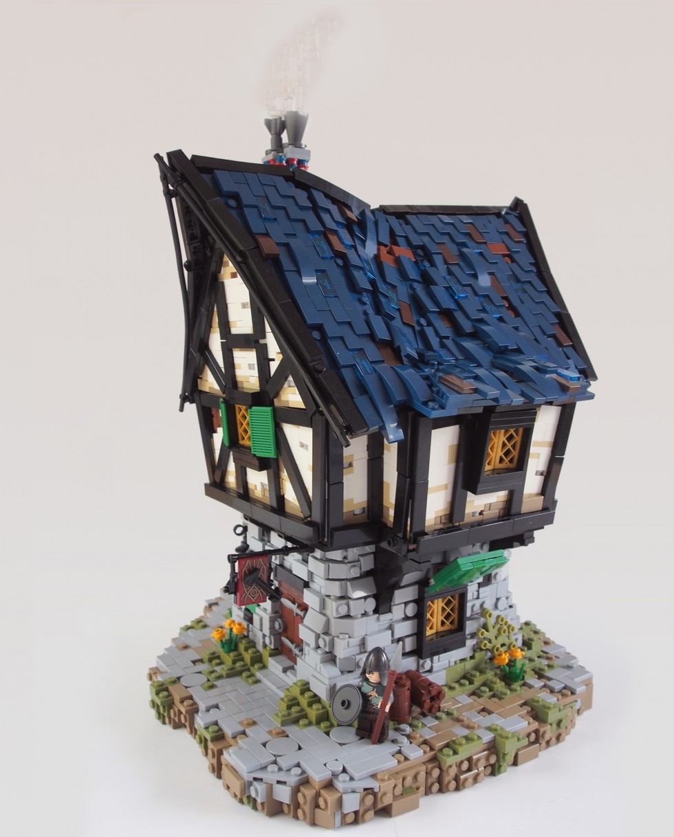 Blacksmith Shop - LEGO - David Hensel