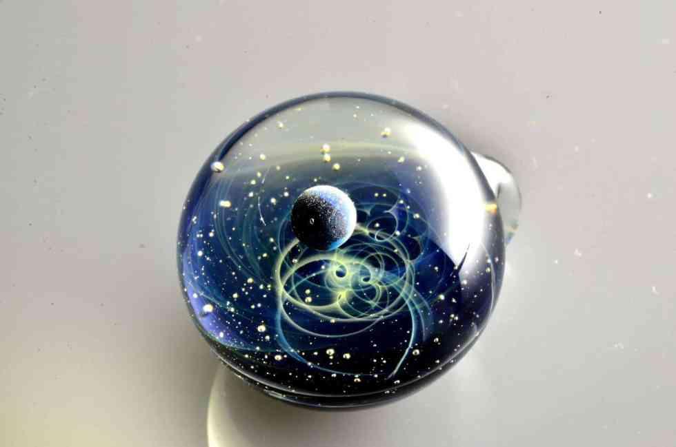 satoshi tomizu - pendentif verre 17446955