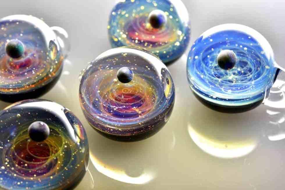 satoshi tomizu - pendentif verre 83072431