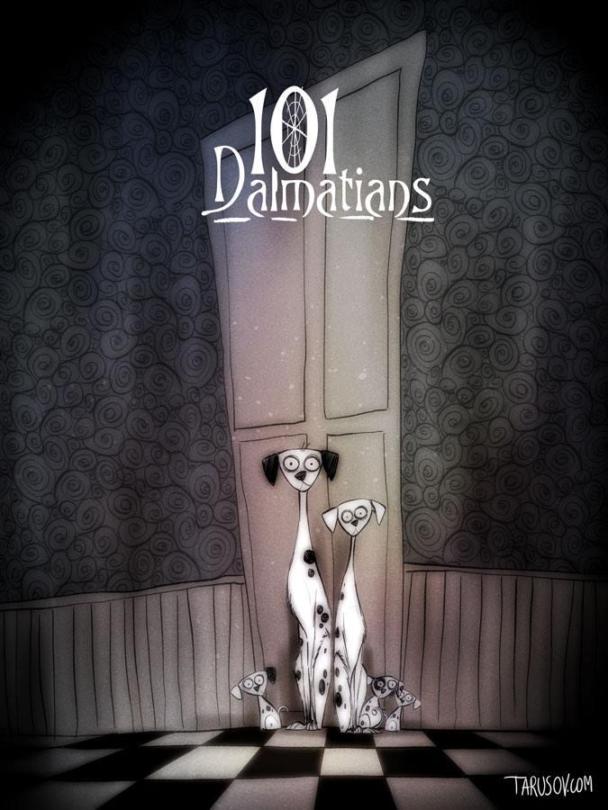 Andrew Tarusov Disney Tim Burton 98376942