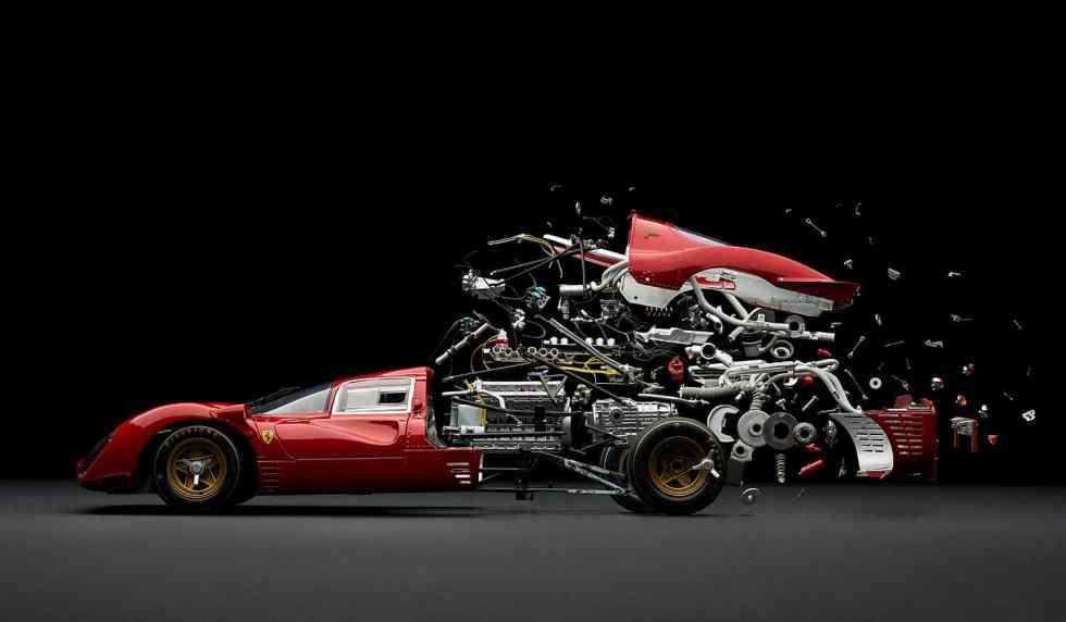 Ferrari 330 P4/ Disintegrating ©Fabian Oefner