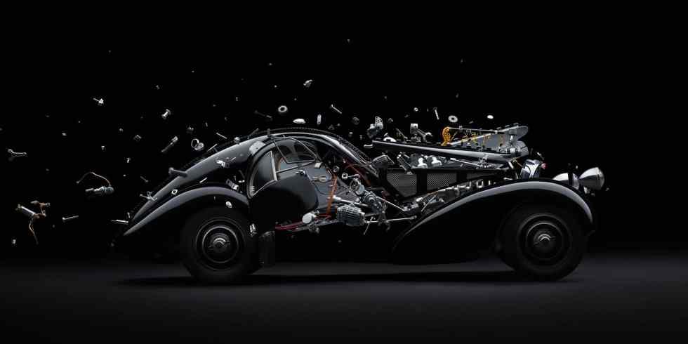 Bugatti 57 SC / Disintegrating ©Fabian Oefner