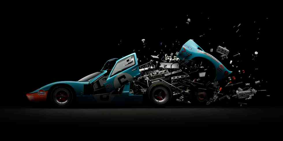 Ford GT40 / Disintegrating ©Fabian Oefner