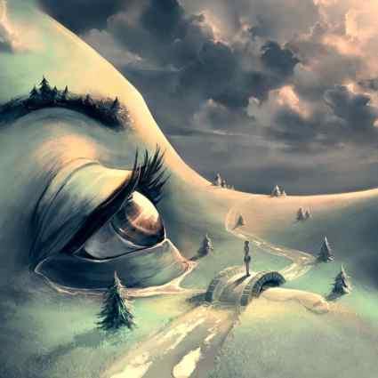 Des univers fantasy inspiré par Hayao Miyazaki et Tim Burton / Cyril Rolando