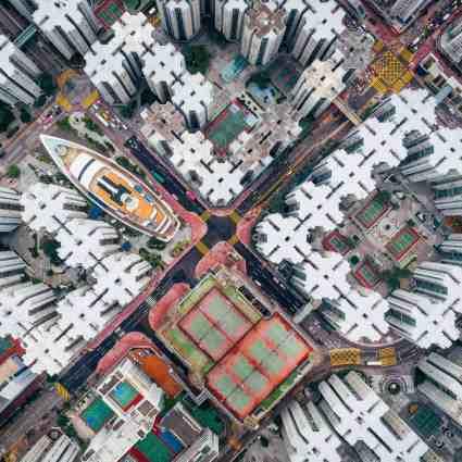 Prises de vue aériennes de Hong-Kong / Andy Yeung