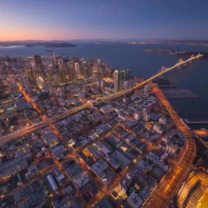 Aerial Cityscape: San Francisco / Michael Shainblum