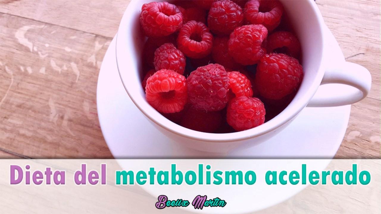 como funciona a dieta do metabolismo rapido