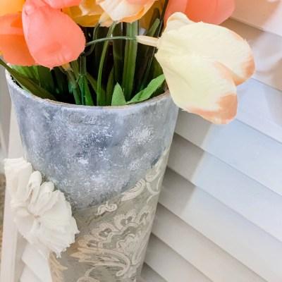 DIY Spring Planter