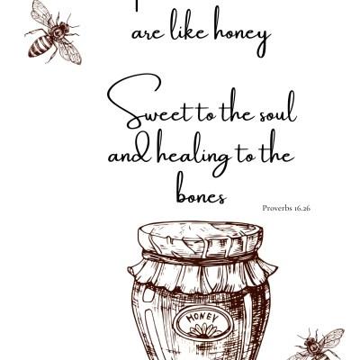 Honeybee Printable