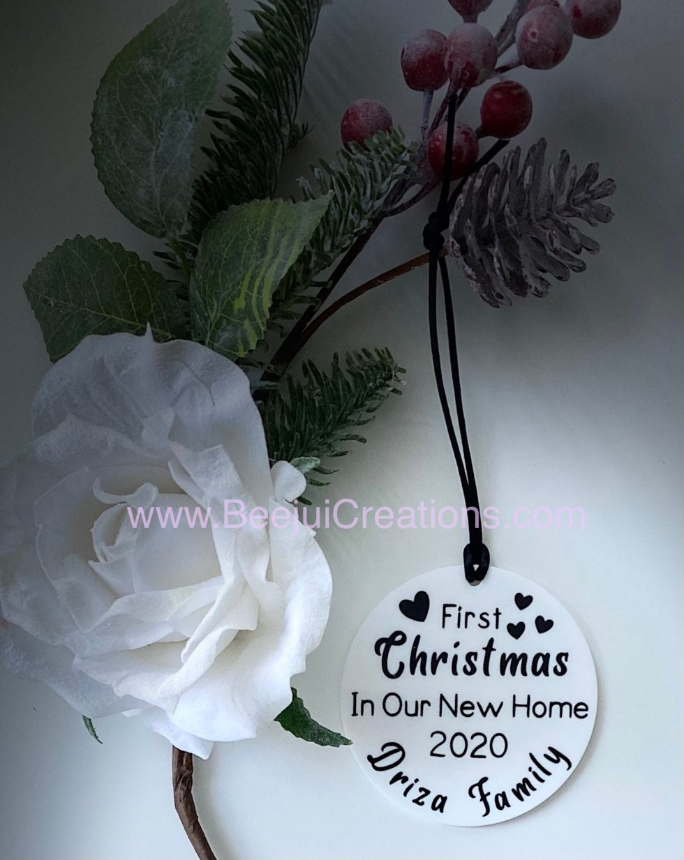 New Home Personalised Ornaments
