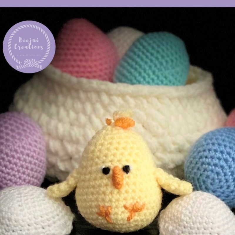 Crochet Easter Baby Chick - Free Pattern