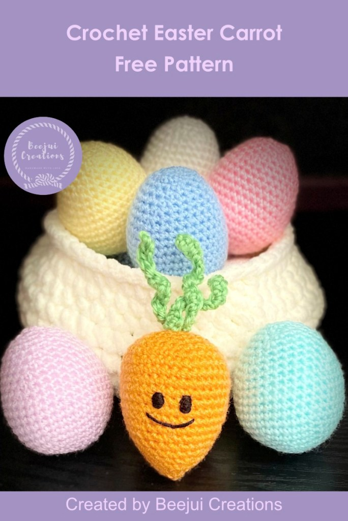 Crochet Easter Carrot