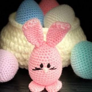 Crochet Easter Bunny Pattern - PDF