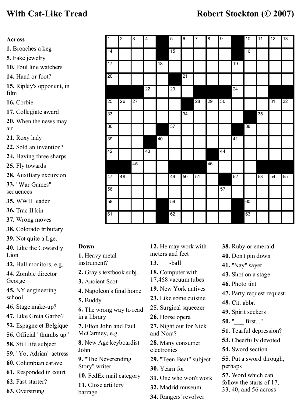"Search Results for ""Large Print Crossword Puzzles"
