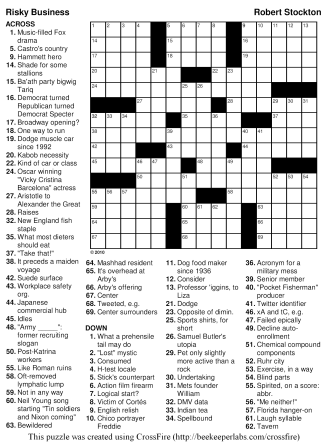 medical puzzles and crossword printable