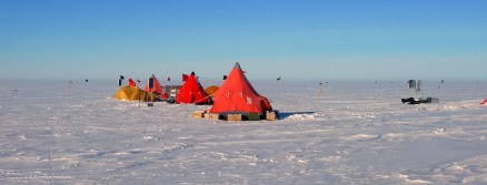 Pine island Glacier camp