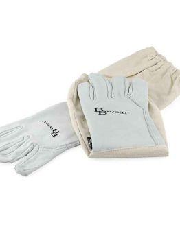 BBwear Cow Hide Beekeepers Gloves