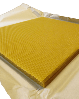 14x12 Foundation - Unwired - 100% Beeswax