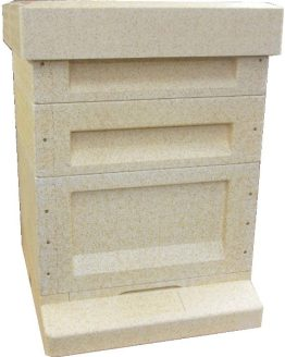 Commercial Poly Hive with 2 Supers