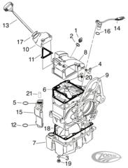 Harley Davidson 6 Speed Transmission Diagram