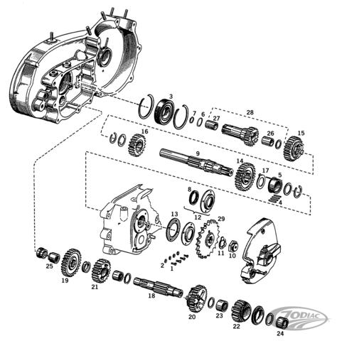 Wiring Diagram Source: Harley Davidson 6 Speed