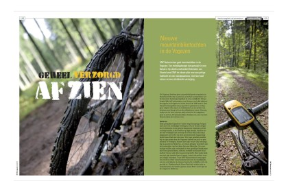 SNP-Magazine - Fietsreportage over mountainbiken in de Vogezen